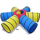 Play Tents NAUY- Niño Adulto Túnel de sol Tubo de arrastre Sentido de los juguetes de entrenamiento Diversión Juegos Infantil Equipo deportivo