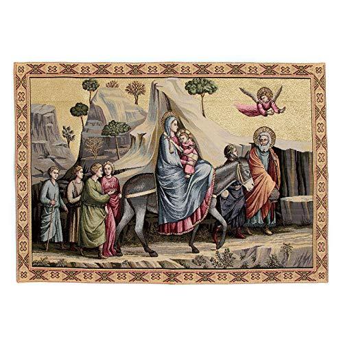 Holyart Wandteppich Flucht nach Ã?gypten nach Giotto 65x90 cm