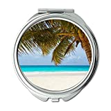 Yanteng Spiegel, Reise-Spiegel, Strandlandschaftsnatur, Taschenspiegel, tragbarer Spiegel