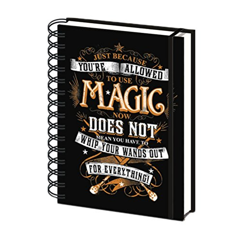 Preisvergleich Produktbild A5 Harry Potter Magic Notebook