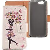 Lankashi PU Flip Leder Tasche Hülle Case Cover Schutz Handy Etui Skin Für ZTE Blade A512 5.2
