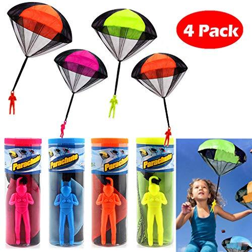Dapei Kinder pädagogisches Spielzeug Play Hand Outdoor Kinder Fallschirm Mini werfen Spielzeug Gute Geschenke für Kinder (20 Zoll Bad-spiegel)