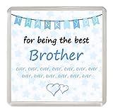 Best Brother nunca regalos - Brother 'gracias por ser el mejor nunca' posavasos Review