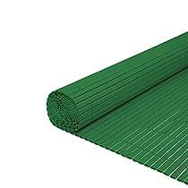 Verde Hengda/® Frangivista Canniccio PVC Paravento privacy Frangivento Recinzione giardino per giardino, balcone e terrazza(160X500cm