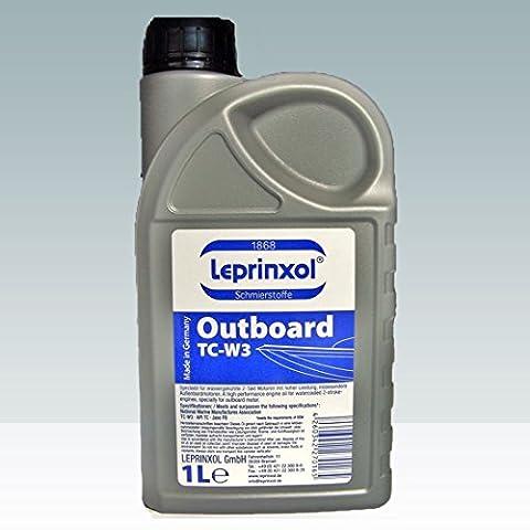 1L aussenb Order lepri nxol OUTBOARD TCW3Marine 2T huile de moteur de W3TC. Spécialement OUTBOARD avec Oil pour wassergekühlte moteurs à 2moteurs de haute performance, en particulier pour les moteurs hors-bord, développé OUTBOARD de