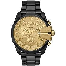 7229746b9b55 Diesel Reloj Cronógrafo para Hombre de Cuarzo con Correa en Acero  Inoxidable DZ4485