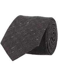 OTTO KERN Klassische Krawatte Anthrazit 7 cm