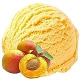 Pfirsich Geschmack 1 Kg Gino Gelati Eispulver für Speiseeis Softeispulver Speiseeispulver