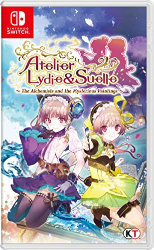 Atelier Lydie And Suelle Alchemists Of The Mysterious Painting Switch