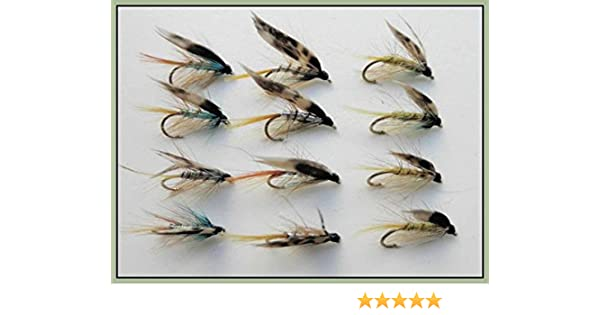 Silver /& Pearly Invicta Wet Trout Flies Size 10//12 Fly Fishing 12 Standard