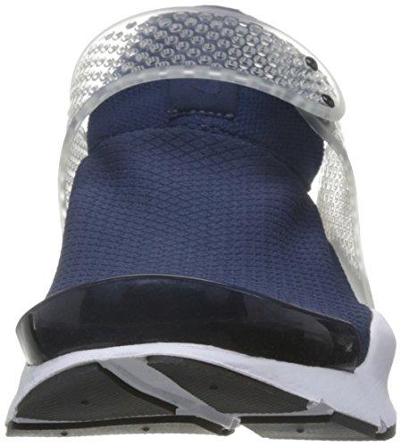 Nike 848475-400, Sneakers trail-running femme midnight navy black white 401