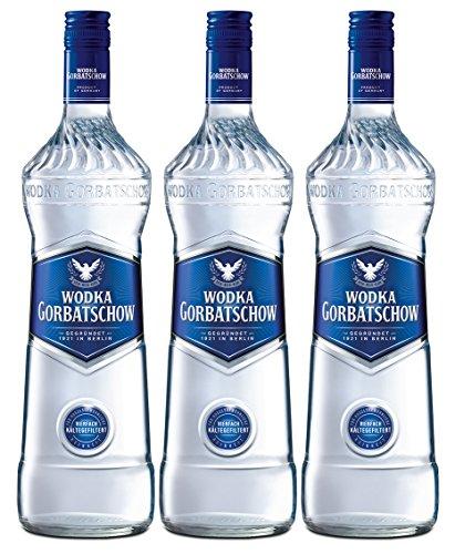 Gorbatschow Wodka 37,5% Vol. (3 x 0.7 l)