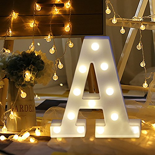 Letras Led Letras Decorativas Letras Alphabet Light