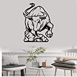stickers muraux 3d pat patrouille stickers muraux bebe papillon Rodeo Bull Corrida Animal Rage Room