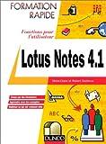 Lotus Notes 4.1. Fonctions pour l'utilisateur