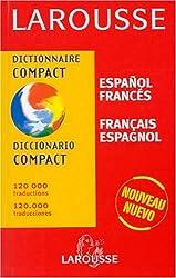 Dictionnaire Compact : Espagnol/français, français/espagnol