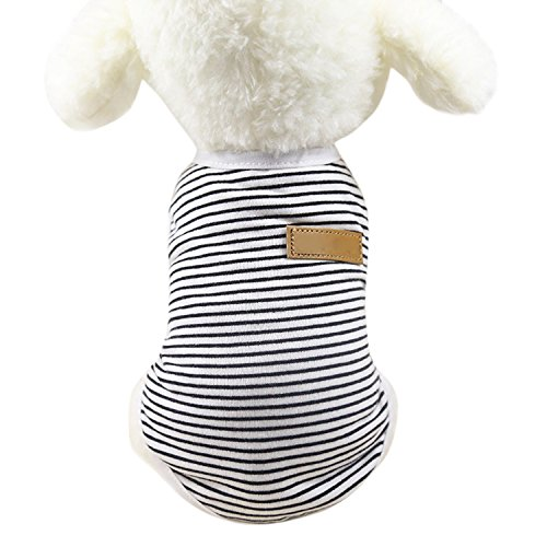 Boodtag Hunde Pullover Haustier T-Shirt Weich Warm Strickweste Haustier Bekleidung Hundepulli Teddy Dog Weste Hundkostüm Hustierkostüm für Halloween Weihnachten Hochzeit