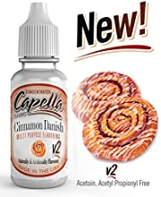 Capella Aroma 13ml DIY Cinnamon Danish Swirl v2