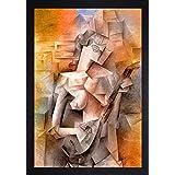 SAF Large Modern Art Big Size Digital Reprint 25.5 inch x 19.5 inch Painting ()