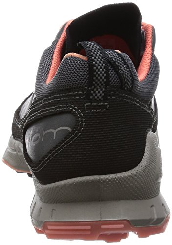 Ecco BIOM TRAIL FL Damen Outdoor Fitnessschuhe Grau (BLACK/DARKSHADOW/CORAL 58929)