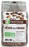 Fèves de cacao non torréfiés sachet de 500gr BIO Fructivia