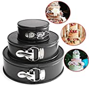 Ausering 4/7/9 Inch Round Cake Mold Non Stick Slipknot Removable Base Home Cake Mold Baking Pan Tray DIY Tools