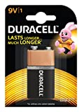 Duracell Alkaline 9V Battery with Duralock Technology - 1 Piece