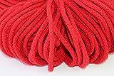 Baumwollkordel-Baumwollschnur Ø 5mm geflochten