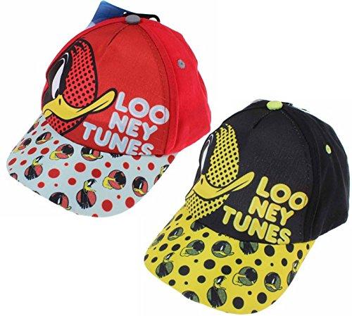 cappellino-daffy-duck-cappello-originale-looney-tunes-52-rosso