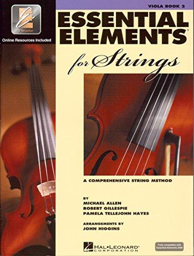 ESSENTIAL ELEMENTS 2000 FOR STRINGS 2 - arrangiert für Viola - mit CD [Noten / Sheetmusic] Komponist: ALLEN MICHAEL + GILLESPIE ROBERT + TELLEJOHN HAYES PAMELA