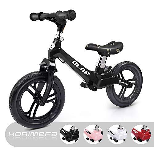 KORIMEFA Bicicleta Equilibrio sin Pedales Niños Aleación