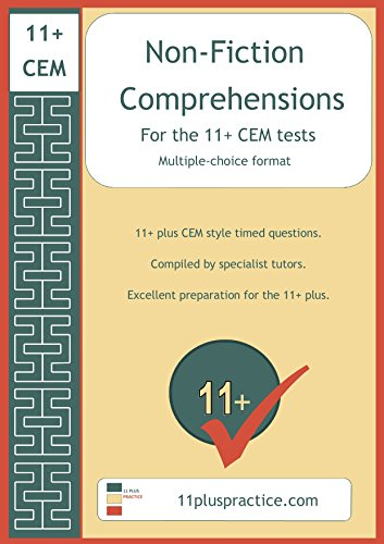 Non-Fiction Comprehensions for the 11+ CEM Tests