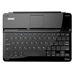 Anker Bluetooth Ultra-Slim Keyboard Cover for iPad Air 2 / Air with 6-Month Battery Life Between Charges and Comfortable Low-Profile Keys TC930