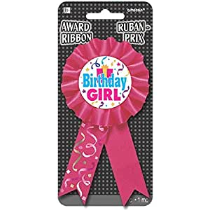 Amscan International Ruban Award anniversaire fille