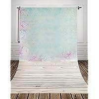 1.5*2.2m(150*220m)Tela pictórica Pastel papel para decorar y piso de madera estudio fotográfico impreso fotografía recién nacido de fondo de fondo D-9633