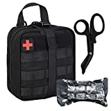 BUSIO Tactical IFAK Pouch, First Aid Rip-Away Molle Pouch, Emergency Survival Kit...