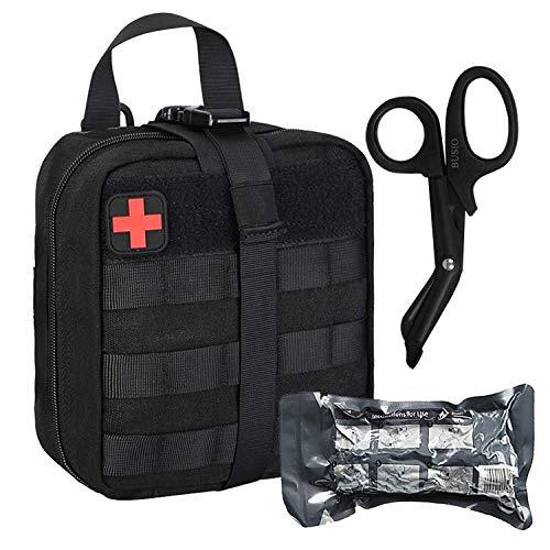 MOLLE IFAK Pouch First Aid Kit-Militär Klein Erste Hilfe Taktische Tasche+6