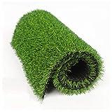 NOOYC Gazon Artificiel pour Chiens, Vert Herbe Artificielle avec Drainage 15mm Non Toxique Gazon synthétique intérieur et extérieur d'herbe de Pelouse d'herbe terrasse,14x2m/42x6ft