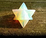 Opalit Merkaba-Stern 'Stein of Eternity' Energie-Heilung Meditation Werkzeug Sacred Geometrie Tetraeder Kristall Edelstein Altar Decor Spiritual Gifts