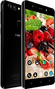 ZopoSpeedX - Soft Light Selfie - Android Smartphone Mobile (Charcoal Black, 3GBRAM+32GBROM,13MP+2MP DualRear Cameraand13MPFrontCamera)