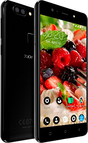 Zopo Speed X - Soft Light Selfie - Android Smartphone Mobile (Charcoal Black, 3GB RAM + 32GB ROM, 13MP + 2MP Dual Rear Camera and 13MP Front Camera)