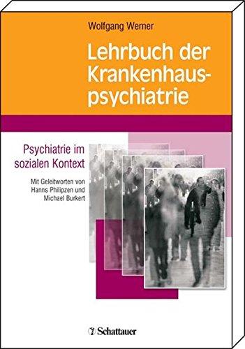 Cover »Lehrbuch der Krankenhauspsychiatrie«