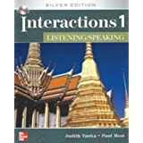 INTERACTIONS LISTENING/SPEAKING 1 Class AUDIO CD: Silver Edition by Judith Tanka (2007-01-23)