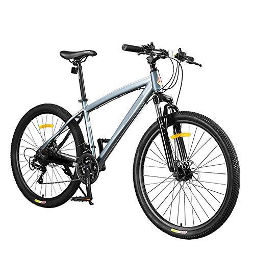 AI CHEN Fahrrad Schaltreifen Mountainbike Doppelscheibenbremsen Vorderradgabel Männer und Frauen Studenten Geländefahrrad 21 Gang 26 Zoll