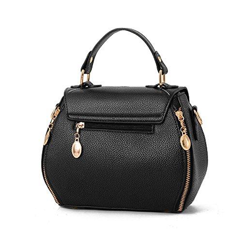 Toopot Borsa della borsa della borsa della borsa della borsa delle donne semplice borse della borsa della moda di modo borsa sveglie delle (BLU REALE) BLU REALE