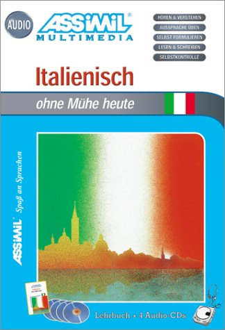Italienisch ohne Mühe heute (1 livre + coffret de 4 CD) (en allemand)