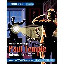 Paul Temple Intervenes (BBC Audio)