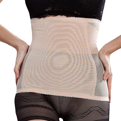 Dexinx Einfache Leichte Post Mutterschaft Gürtel Frauen Postpartale Bauch Wrap Band Mutterschaft Recovery Unterstützung Gürtel Hautfarbe L -
