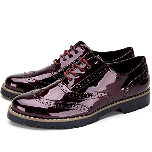 super popular 390bc 5f908 Zapatos Cordones Oxford Derby Mujer - Zapatos Brogue