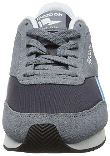 Reebok Royal Cl Jogger 2, Chaussures de Sport Homme, Gris Gris (Hs/Asteroid Dust/Coal/Wild Blue/White)